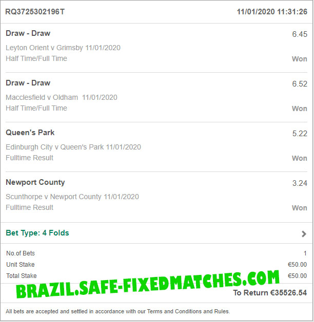 soccer betting 100% fixed