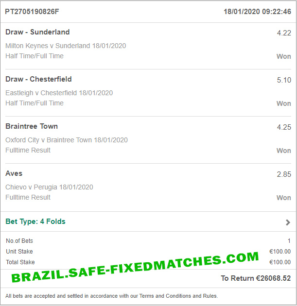 soccer fixed betting tips