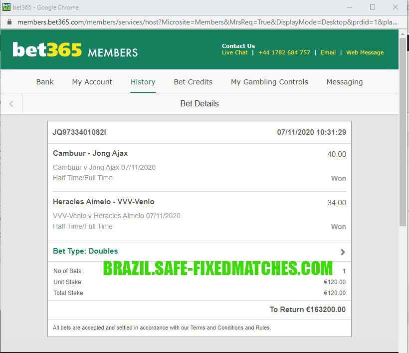 Football Sure Fixed Matches