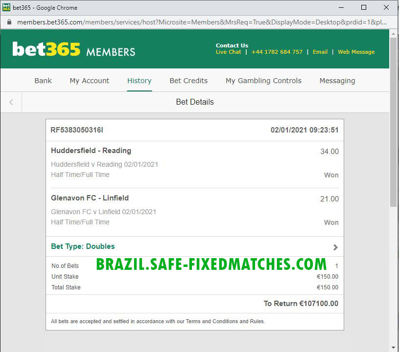 FIXED MATCH BETTING SITE