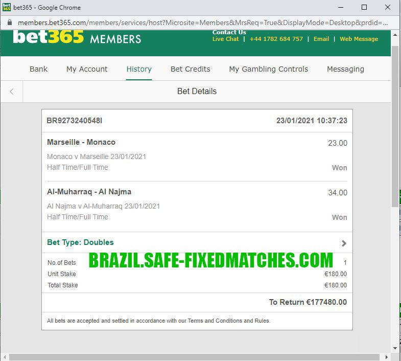 brazil expert fixed matches